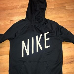 Women's black Nike sweatshirt. Size large